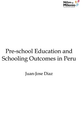 Pre-school Education and Schooling Outcomes in Peru