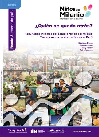 ¿Quién se queda atrás? Resultados iniciales del estudio Niños del Milenio. Tercera ronda de encuestas en el Perú.