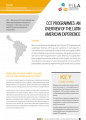 CCT Programmes: An Overview of the Latin American Experience