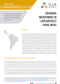 Expanding microfinance in Latin America's rural areas