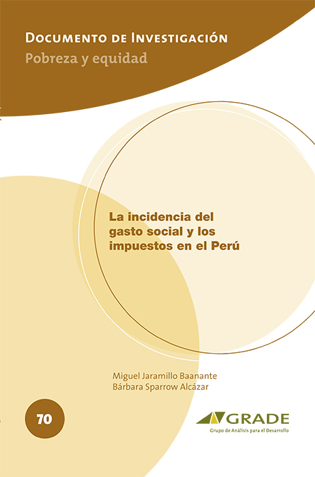 La incidencia del gasto social y los impuestos en el Perú