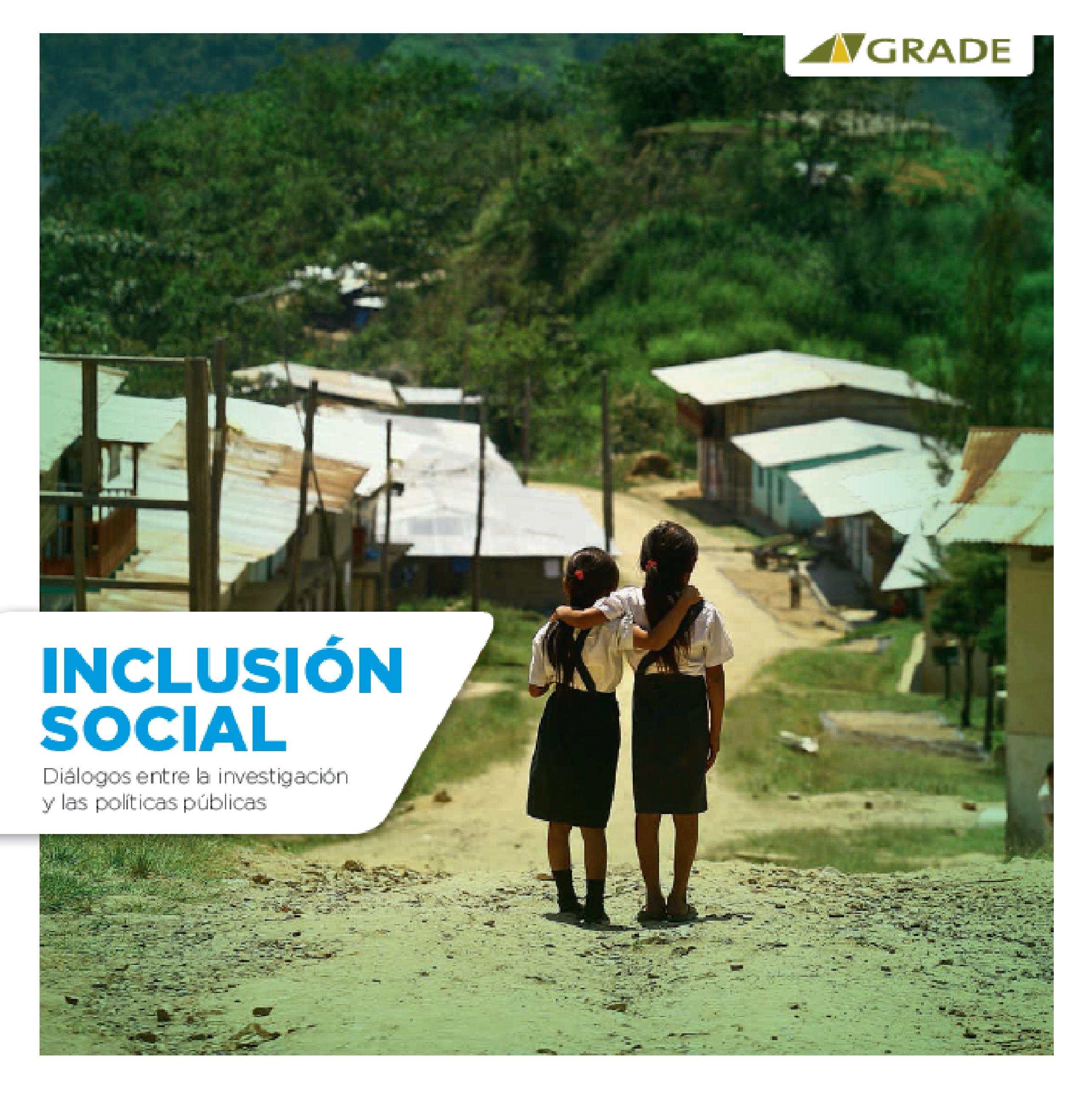 Inclusión social: diálogos entre la investigación y las políticas públicas