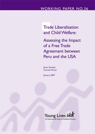 La liberación del comercio y el bienestar de la infancia: evaluando el impacto del Acuerdo de Libre Comercio entre Perú y Estados Unidos