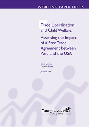 Trade liberalisation and child welfare: assessing the impact of a free trade agreement between Peru and the USA